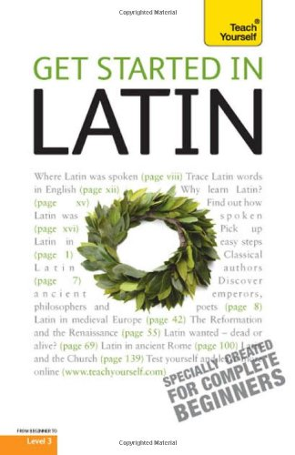 9780071739399: Get Started in Latin [With Paperback Book] (Teach Yourself Language)