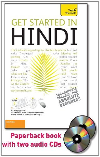9780071739481: Get Started in Hindi with Two Audio CDs: A Teach Yourself Guide (Teach Yourself Language)