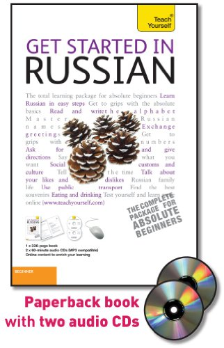 9780071739498: Get Started in Russian, Beginner [With Book(s)] (Teach Yourself: Language)