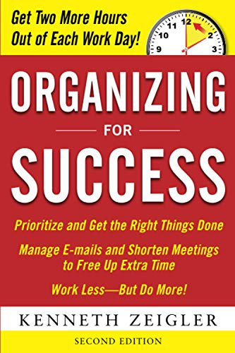 9780071739566: Organizing for Success, Second Edition (Business Skills and Development)