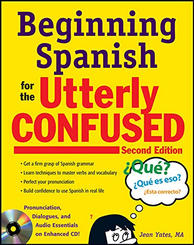 9780071739634: Beginning Spanish for the Utterly Confused with Audio CD, Second Edition