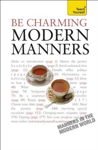 9780071740197: Be Charming--Modern Manners: A Teach Yourself Guide (Teach Yourself Series)