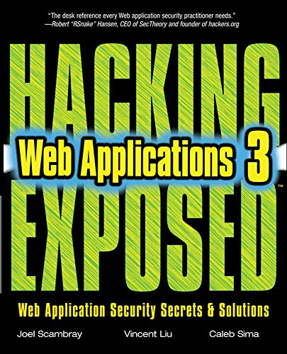 9780071740647: Hacking Exposed Web Applications, Third Edition