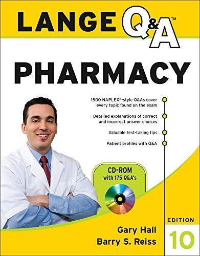 9780071740678: Lange Q&A Pharmacy, Tenth Edition