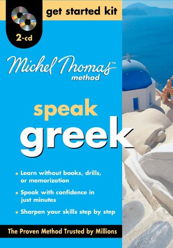 9780071740746: Michel Thomas Greek Get Started Kit, Two-CD Program