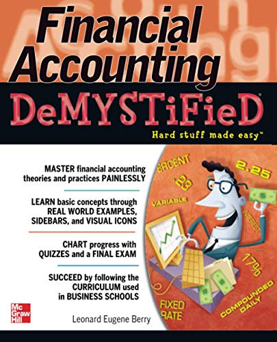 9780071741026: Financial Accounting DeMYSTiFieD