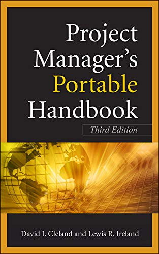 9780071741057: Project Managers Portable Handbook, Third Edition (Project Book Series)