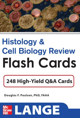 9780071741149: Histology and Cell Biology Review Flash Cards (Lange Flashcards)