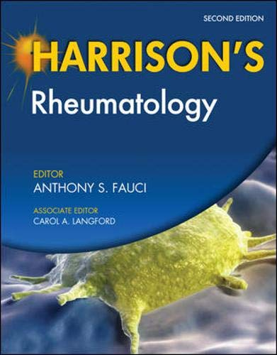 9780071741439: Harrison's Rheumatology, Second Edition