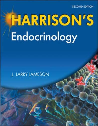 9780071741446: Harrison's Endocrinology, Second Edition