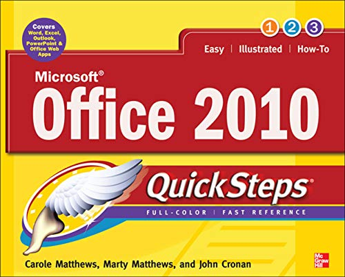 9780071741606: Microsoft Office 2010 QuickSteps