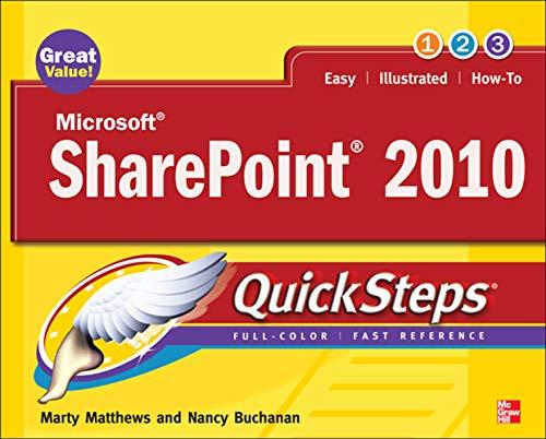9780071741934: Microsoft SharePoint 2010 QuickSteps