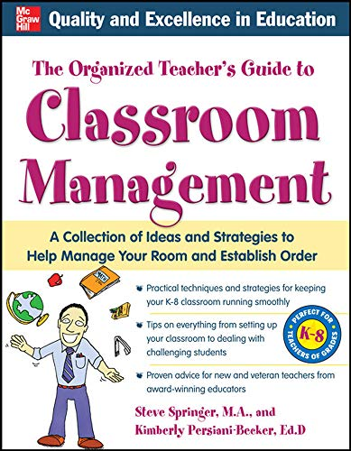9780071741989: The Organized Teacher's Guide to Classroom Management with CD-ROM