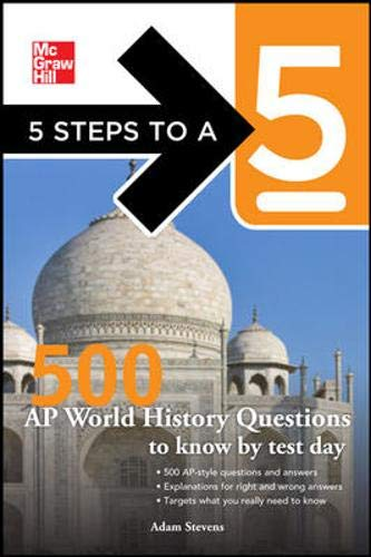 9780071742092: 5 Steps to a 5 500 AP World History Questions to Know by Test Day (5 Steps to a 5 (Flashcards))
