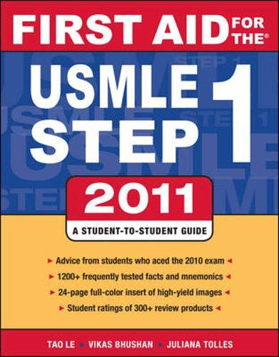 9780071742306: First Aid for the USMLE Step 1 2011 (First Aid USMLE)
