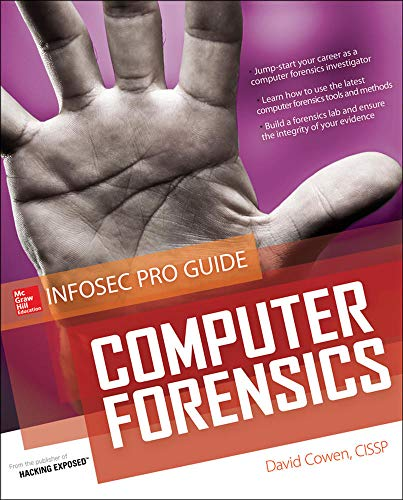 9780071742450: Computer Forensics InfoSec Pro Guide (Beginner's Guide)