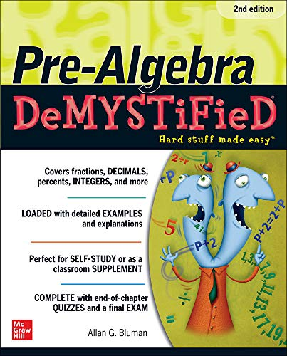 9780071742528: Pre-Algebra DeMYSTiFieD, Second Edition