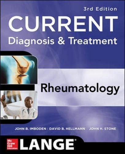9780071742801: Current Diagnosis & Treatment in Rheumatology