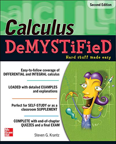9780071743631: Calculus DeMYSTiFieD, Second Edition