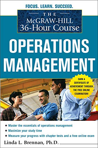 9780071743839: The McGraw-Hill 36-Hour Course: Operations Management (McGraw-Hill 36-Hour Courses)