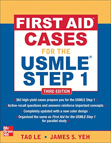 9780071743976: First Aid Cases for the USMLE Step 1, Third Edition (First Aid USMLE)