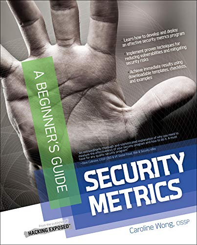 9780071744003: Security Metrics: A Beginner's Guide