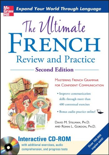 9780071744140: The Ultimate French Review and Practice