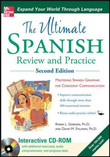 9780071744188: Ultimate Spanish Review and Practice with CD-ROM, Second Edition (UItimate Review & Reference Series)