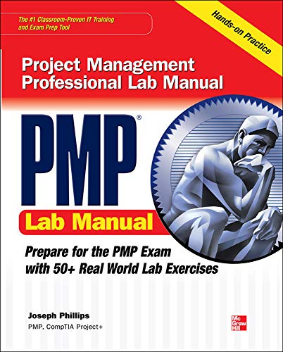 9780071744263: PMP Project Management Professional Lab Manual (Certification & Career - OMG)