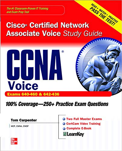 9780071744409: CCNA Cisco Certified Network Associate Voice Study Guide (Exams 640-460 & 642-436) (Certification Press)