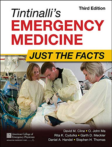 9780071744416: Tintinalli's Emergency Medicine: Just the Facts, Third Edition