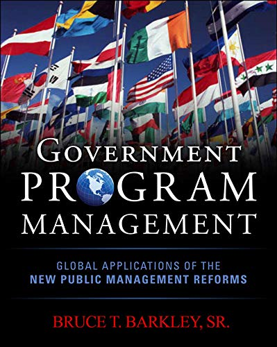 9780071744485: Government Program Management