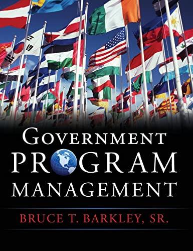 9780071744485: Government Program Management