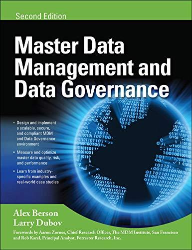 9780071744584: MASTER DATA MANAGEMENT AND DATA GOVERNANCE, 2/E