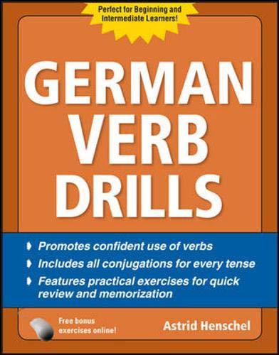 9780071744713: German Verb Drills, Fourth Edition (Drills Series)