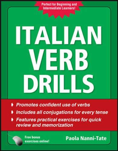 9780071744737: Italian Verb Drills, Third Edition (Drills Series)