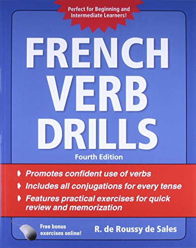 9780071744744: French Verb Drills, Fourth Edition (Drills Series)