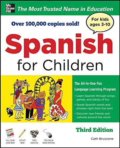 9780071744843: Spanish for Children with Three Audio CDs, Third Edition