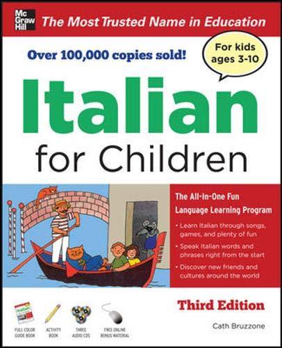 9780071744904: Italian for Children, Third Edition (Book & CDs)