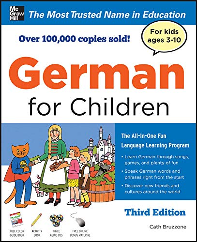 9780071745031: German for Children with Two Audio CDs, Third Edition