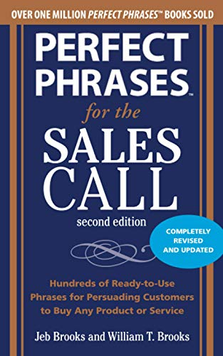 9780071745048: Perfect Phrases for the Sales Call, Second Edition (Perfect Phrases Series)