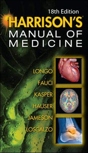 9780071745192: Harrisons manual of medicine (Medicina)