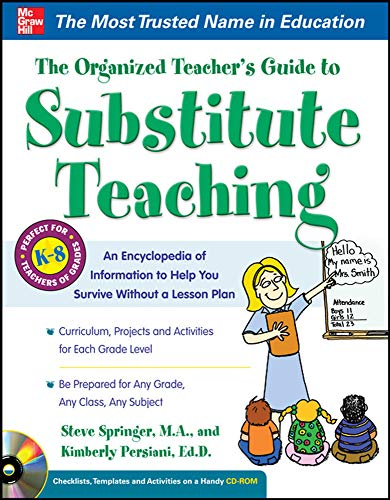 9780071745468: The Organized Teacher's Guide to Substitute Teaching