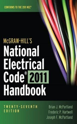 9780071745703: McGraw-Hill's National Electrical Code 2011 Handbook (McGraw-Hill's National Electrical Code Handbook)