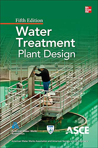 9780071745727: Water Treatment Plant Design, Fifth Edition