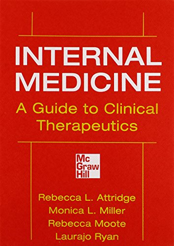 9780071745802: Internal Medicine A Guide to Clinical Therapeutics