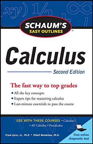 9780071745826: Schaum's Easy Outline of Calculus, Second Edition