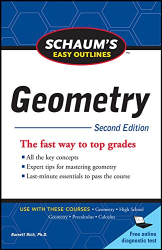 9780071745857: Schaum's Easy Outline of Geometry, Second Edition (Schaum's Easy Outlines)