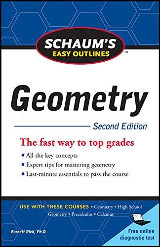 9780071745857: Schaum's Easy Outline of Geometry, Second Edition (Schaum's Easy Outlines)