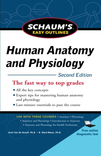 9780071745864: Schaum's Easy Outline of Human Anatomy and Physiology, Second Edition (Schaum's Easy Outlines)